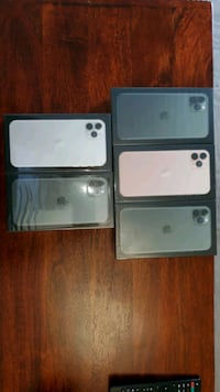 Brand new iphone 11 pro max 256gb in green, gold and silver Toronto, M5B