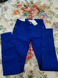 blue and white Adidas track pants Merced, 95340