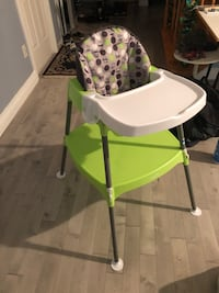 Multi purpose high chair with securing belt Markham, L6C 2N1