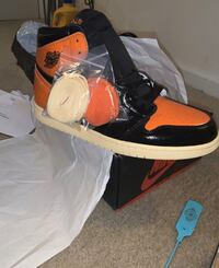 Shattered backboard 1s