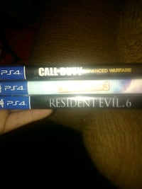3 PS4 games $40 for all 609 mi