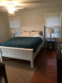 REDUCED $! Farmhouse Queen Bed Frame