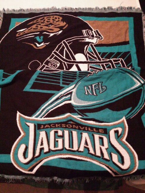 a72642545 Used Jaguars knit blanket for sale in Adairsville - letgo