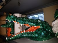 Ceramic Florida gator head $50.00 Ocala, 34473