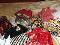 2T girls dress lot 7 dresses, 1 dress sweater no rips stains or tears. See my other lots Hagerstown, 21740