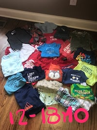 toddler's assorted clothes Burns, 37029