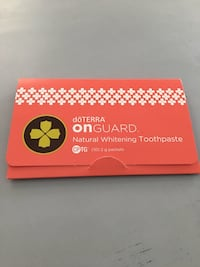 onGUARD natural whitening toothpaste