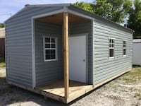 12x24 Cabin Storage Building 677 km