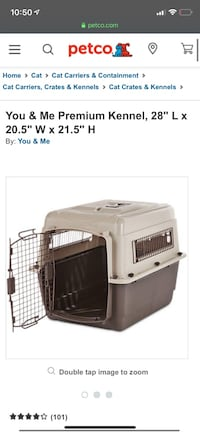 You & Me Premium Kennel - IATA approved dog and cat