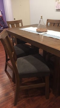 brown wooden dining table set Glendale, 91206