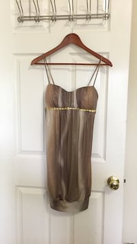 brown and gray spaghetti strap top Ocean Springs, 39564