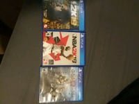 3 PS4 games Greenville, 29605