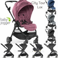 baby's black and pink travel system Fremont, 94538