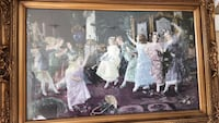 white wooden framed painting of people Fresno, 93730