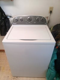 white top-load clothes washer Azle, 76020
