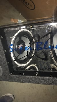 Have 2x10 1000 watt pyramid subwoofer for sale