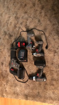Porter Cable cordless toolkit