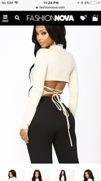 FASHION NOVA LONG SLEEVE TOP Vaughan, L4K 0B8