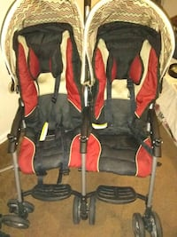 Combi double stroller great condition Independence