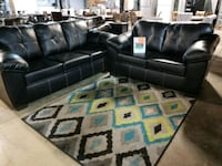 Leather couch and love seat  Pineville, 28134