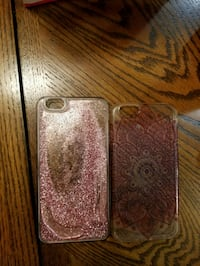 two brown and gray iPhone cases Victorville, 92392