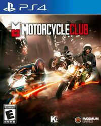 FACTORY SEALED COPY OF MOTORCYCLE CLUB FOR PS4  Cambridge