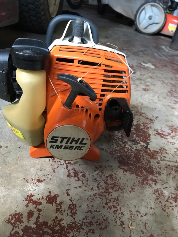 Stihl Km 55 Rc And Redmax Weed Eater