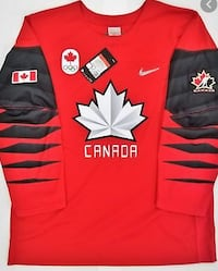Men's Authentic Olympic Hockey Jersey-size Medium