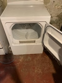 Washing machine and electric dryer set