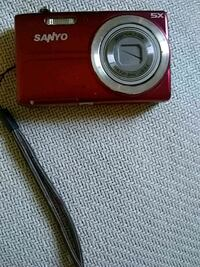 red Nikon Coolpix point-and-shoot camera Covina, 91724