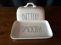 Rae Dunn Butter Dish PLEASE READ DESCRIPTION Whitby, L1N 8M8