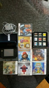 Nintendo 3DS XL with 18 games. 550 km