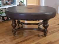 Large brown ottoman Franklinville, 27248