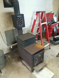 Wood stove with magic heat blower Frederick, 21702