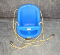 baby's blue and white plastic swing chair Philadelphia, 19114