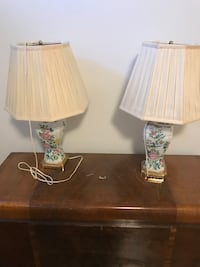 two white-and-brown table lamps Markham, L6C 0B3