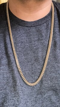 10k Franco gold chain  London, N5W 3Z4