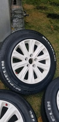 4  17.5in wheels rims tires  5x120  or 5x4.72 Montgomery Village, 20886