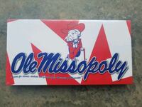 Brand new Ole Miss Monopoly game Beaufort