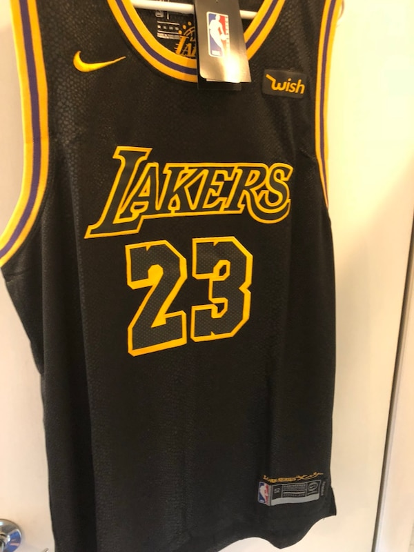 promo code 95880 98956 Sold OUT  Lebron James rare LA Lakers city edition Nike Basketball jersey  Nwt xl! usati in vendita a Cresskill - letgo