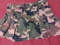 Camo MiNi Skirt with Shorts N' -1 1190 mi