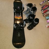 163 cm lamar snowboard package  & bindings and boots of choice Woodbridge, 22191