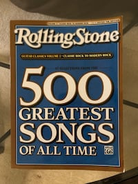 Rolling Stone 500 Greatest Songs of All Time Vol 2 Classic Rock to Modern Rock Manassas, 20112