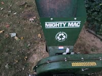 Wood chipper 5 hp works very good  I have landscaper now Mountainside