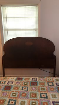 Brown wooden headboard Halethorpe, 21227