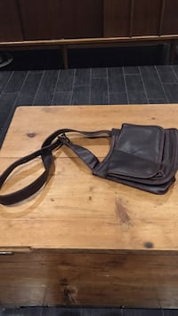 black leather crossbody bag Mississauga, L5W 0C7