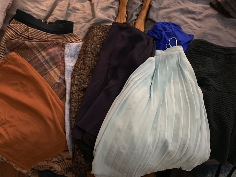 Huge lot of name brand women's clothing (size M) cf5bb807-6886-4b5d-9d02-31a84a923d89