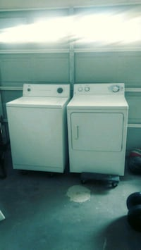 Roper Heavy Duty/ Extra Large Washer and GE Dryer