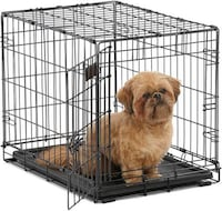 Small puppy CAGE with other dog accessories Toronto, M9M