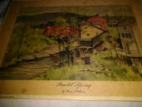 brown wooden framed painting of house Chattanooga, 37404